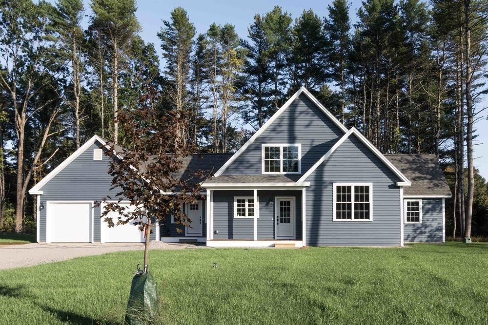 Moravian Cape, Windham, Maine, Exterior