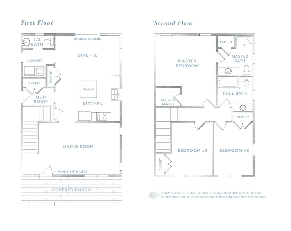 MGM Builders Maine The Grace Floor plan