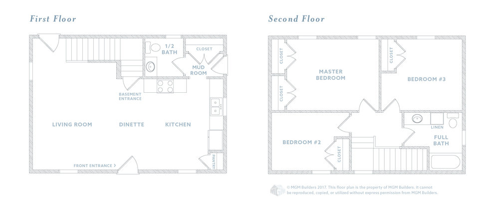 MGM Builders, Maine, The Ellie Floor Plan