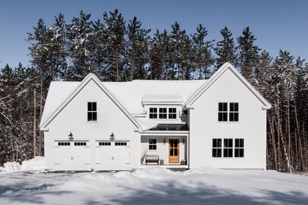 Pleasant River Farmhouse, Windham, Maine, Exterior