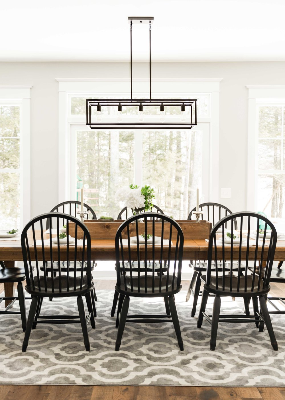 Birchwood Farmhouse, Gorham, Maine, Dining Room
