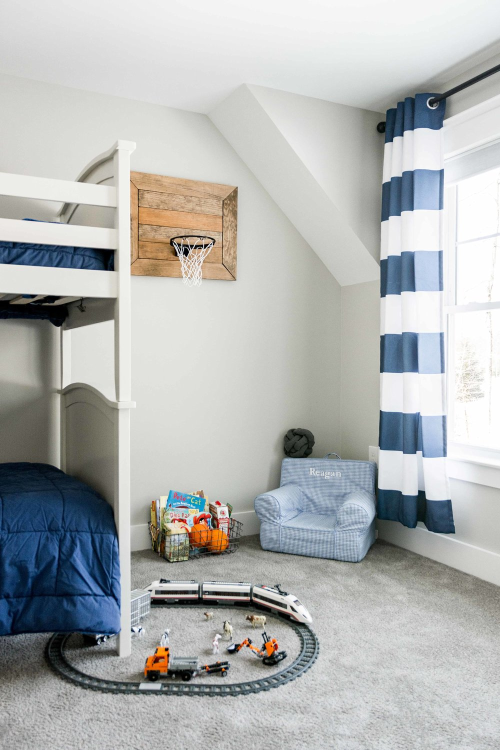 Birchwood Farmhouse, Gorham, Maine, Boys Bedroom