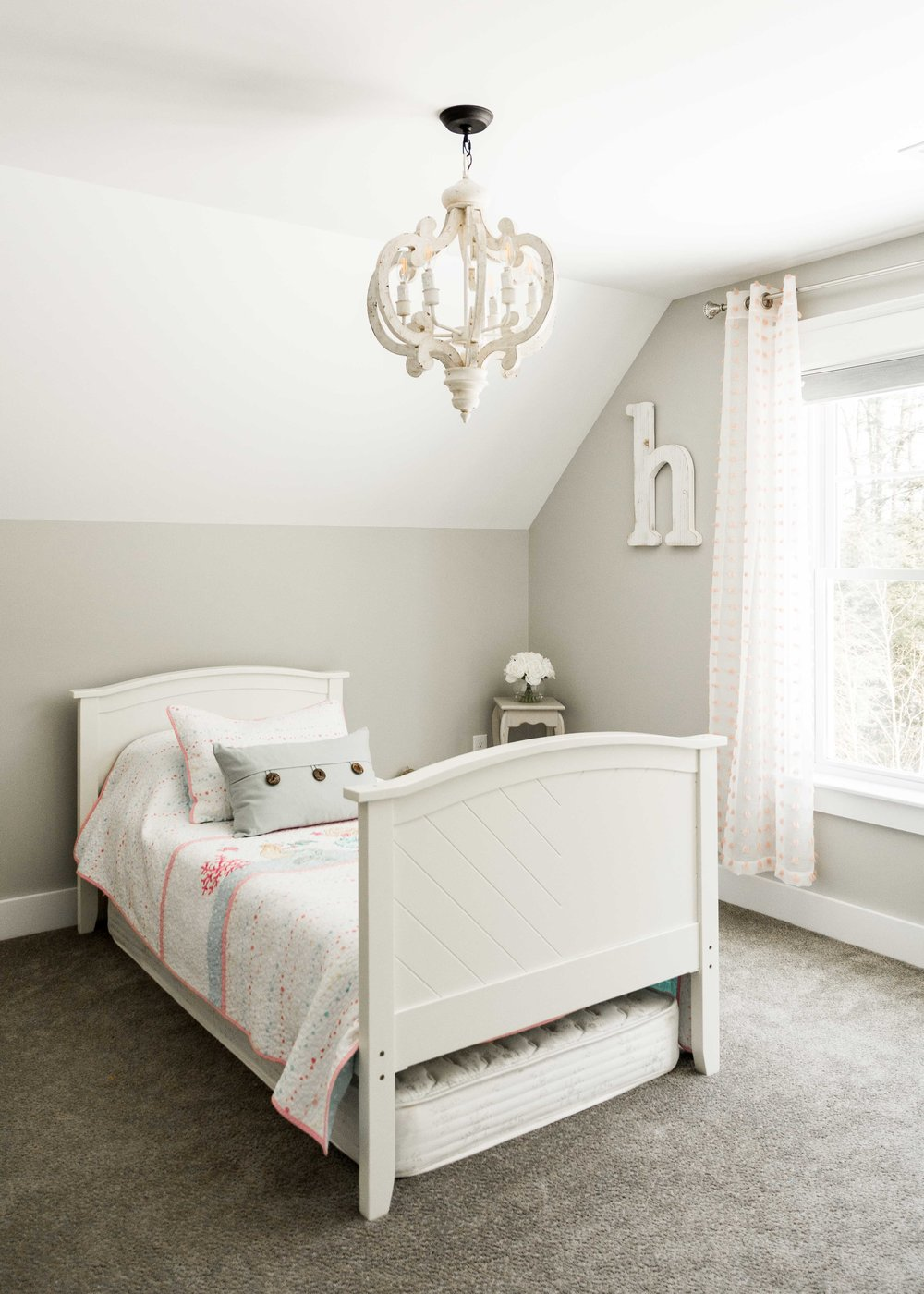 Birchwood Farmhouse, Gorham, Maine, Girls Bedroom