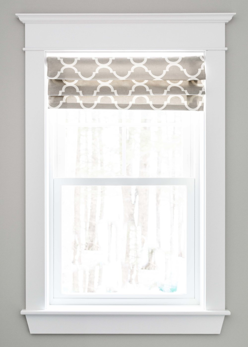 Birchwood Farmhouse, Gorham, Maine, Window Trim Detail