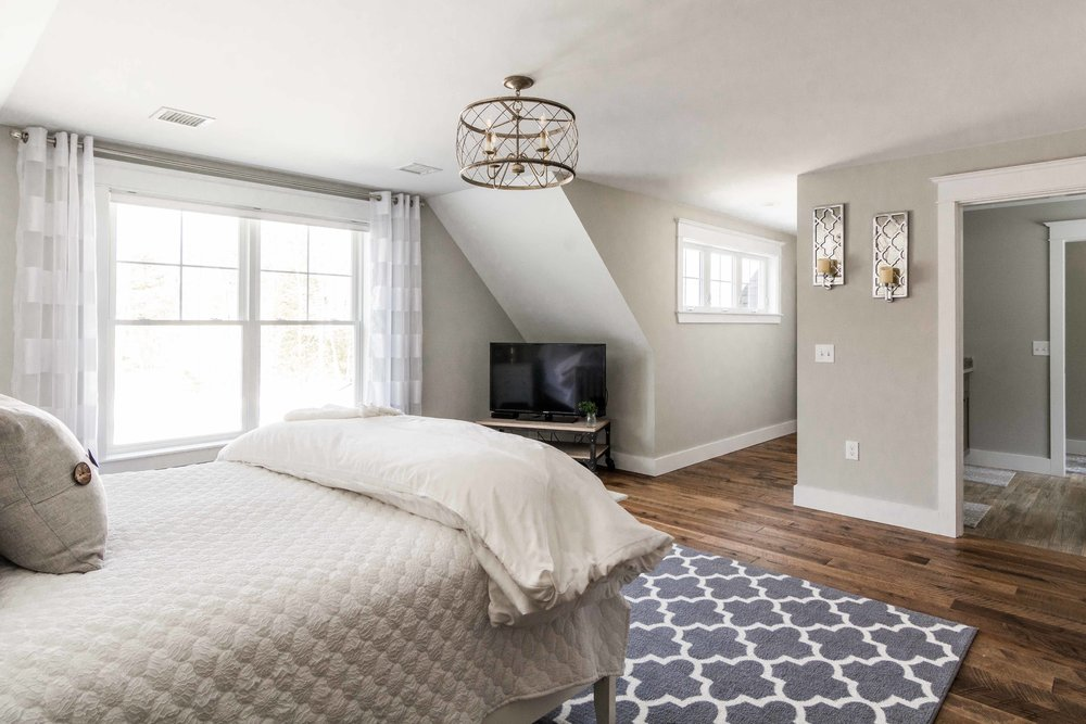 Birchwood Farmhouse, Gorham, Maine, Master Suite