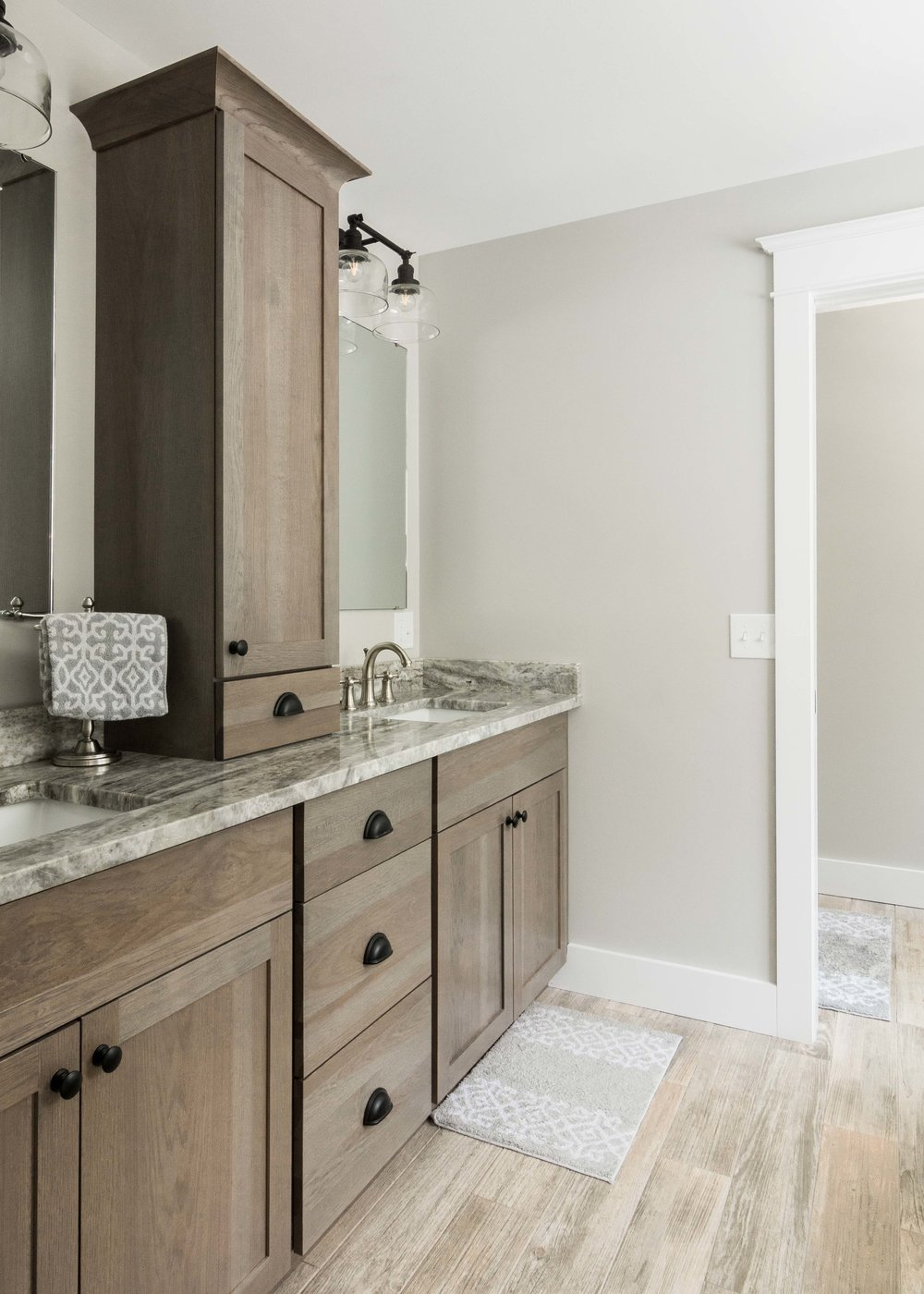 Birchwood Farmhouse, Gorham, Maine, Master Bathroom