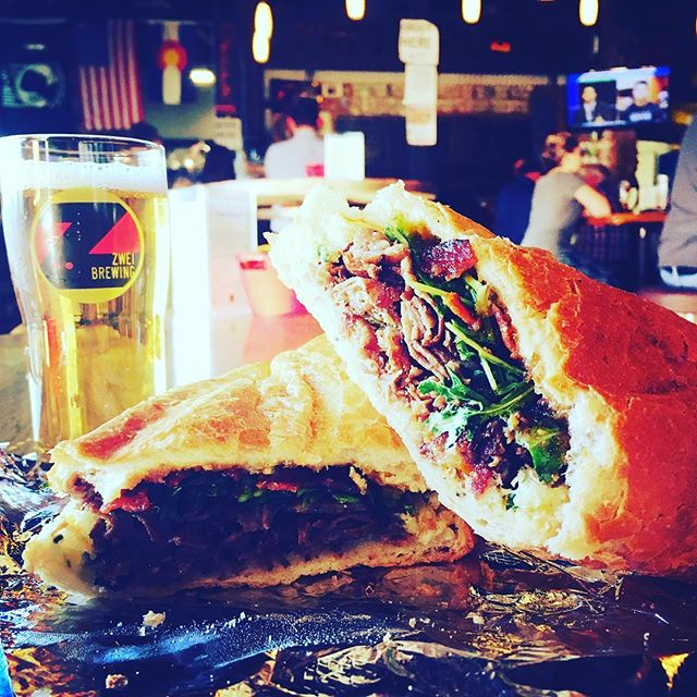 We're back @fortcollins! Get down here to @zweibrewing; the @rockies game is on, the beer is flowing, and we're serving up delicious craft sandwiches. FEED YOUR CRAVING