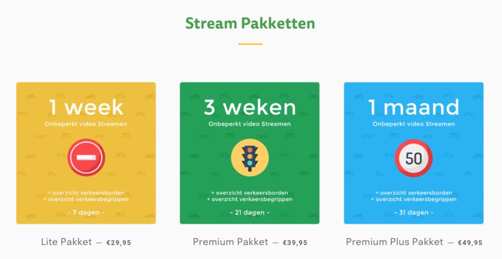 Online Pakketten