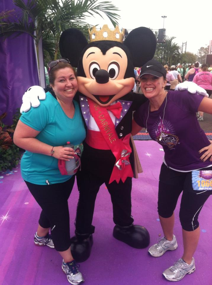 SoleMate for Girls on the Run- Disney Princess Half Marathon