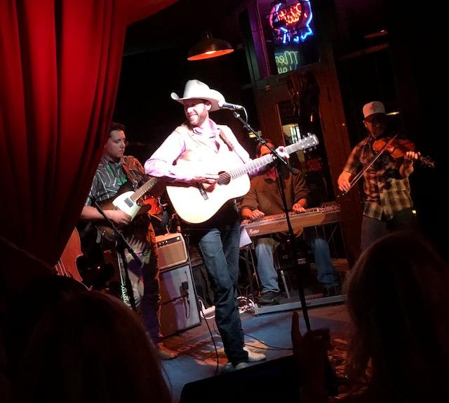 Jacob Tovar & Friends at the Mercury Lounge at 2017 Tom Skinner Skyline Music Fest. Credit: Red Dirt Relief Fund