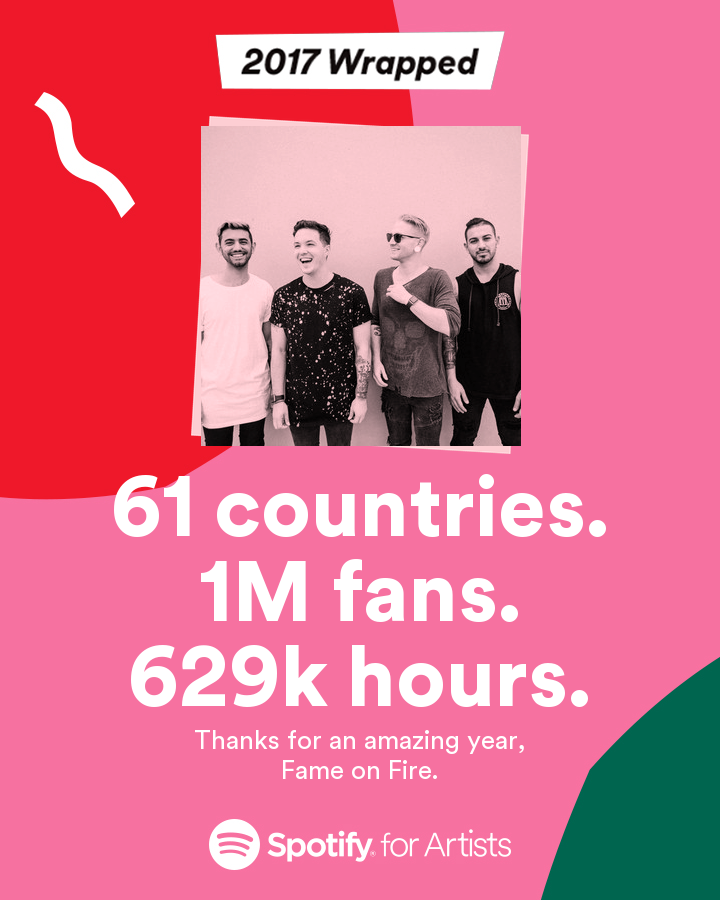 Spotify Wrap Up for 2017
