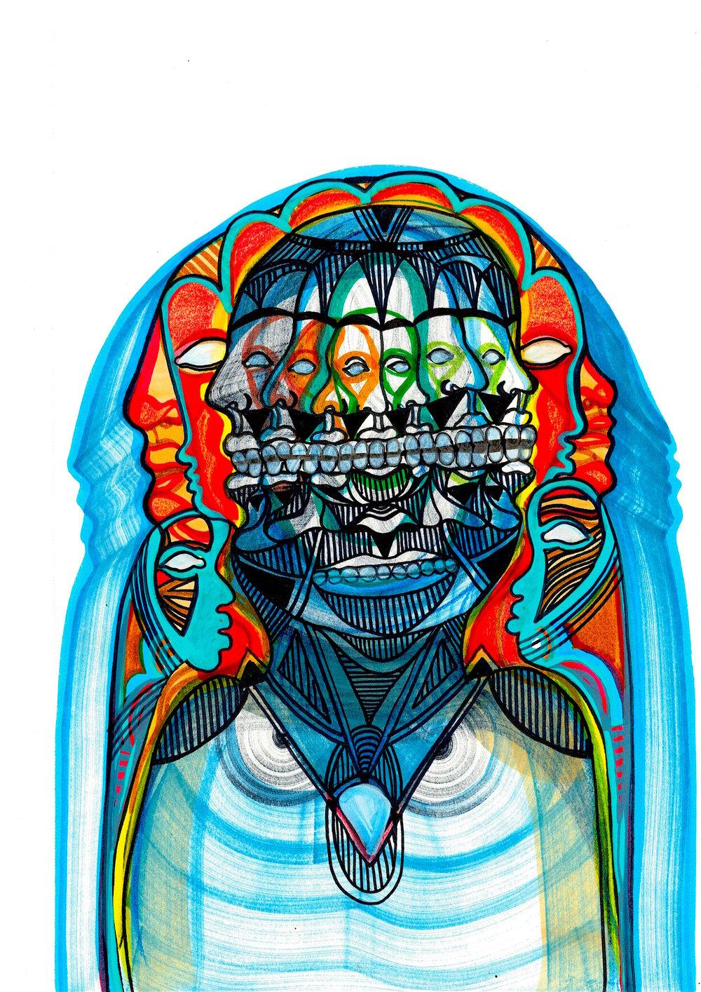 Illustration by  Dar Al Naim Art
