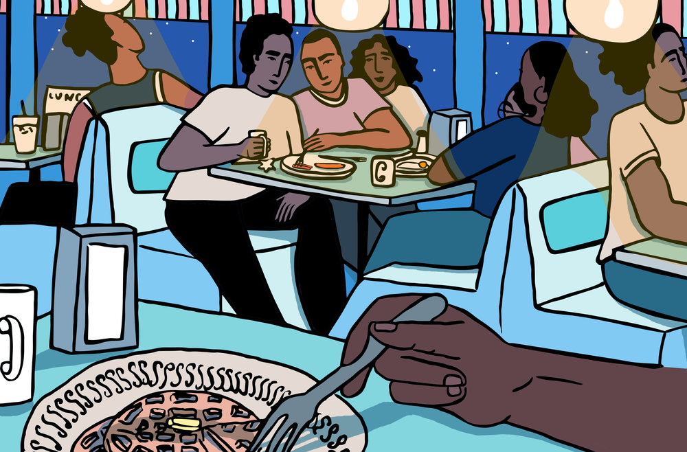Illustration by  Alexandra Bowman