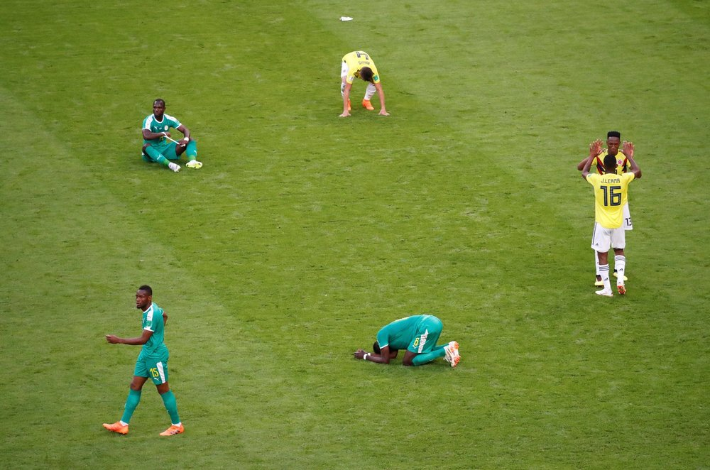 THE ATLANTIC - WORLD CUP 2018: THE AFRICAN TEAM DEPARTS EARLY