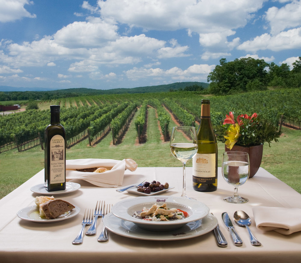 Barboursville Vineyards, Barboursville, Virginia