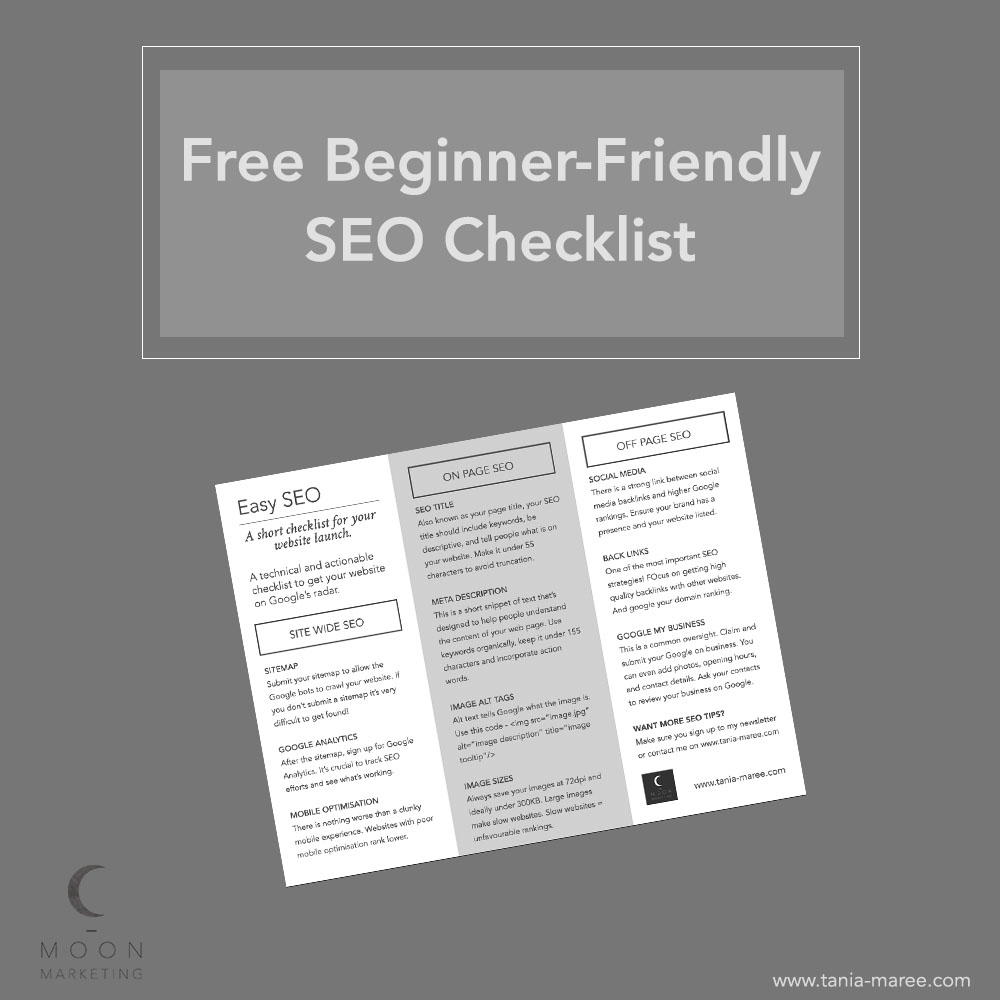 free-seo-checklist-for-beginners