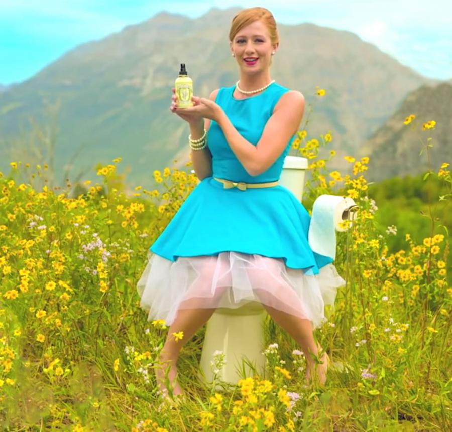 Poo Pourri. Because this pic is more fun than another boring image of books.