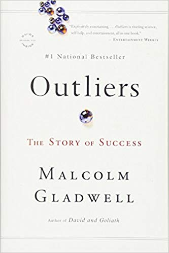Non-fiction writing lessons from  Outliers  by Malcolm Gladwell.