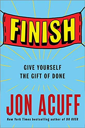 Non-fiction writing lessons from  Finish  by Jon Acuff.