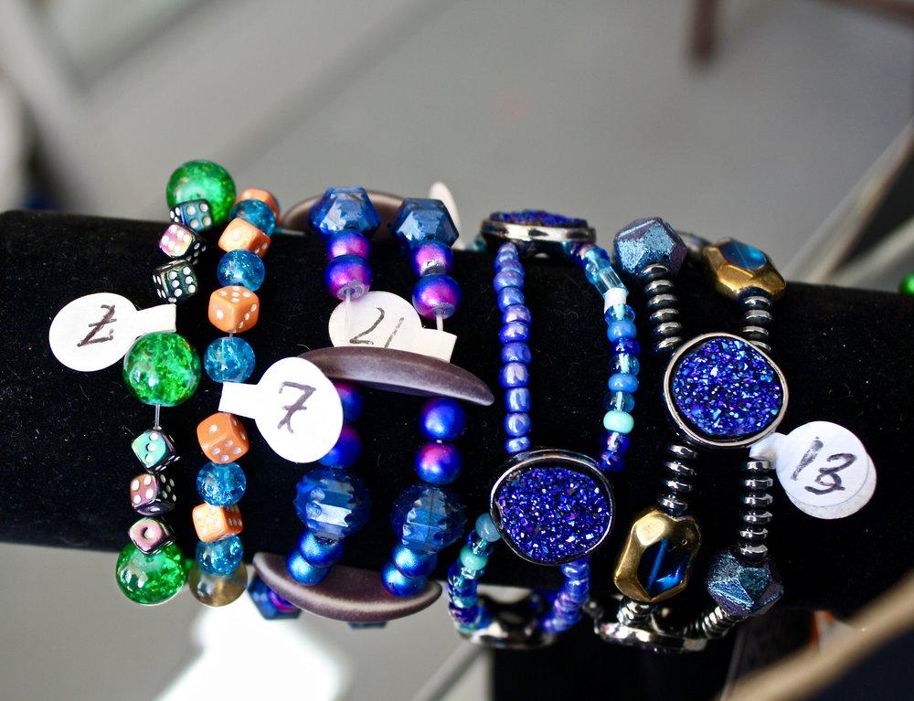Handcrafted Beaded Bracelets