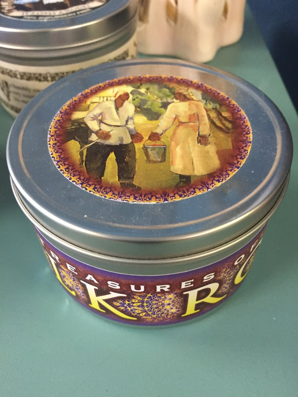 Silk Road Candle