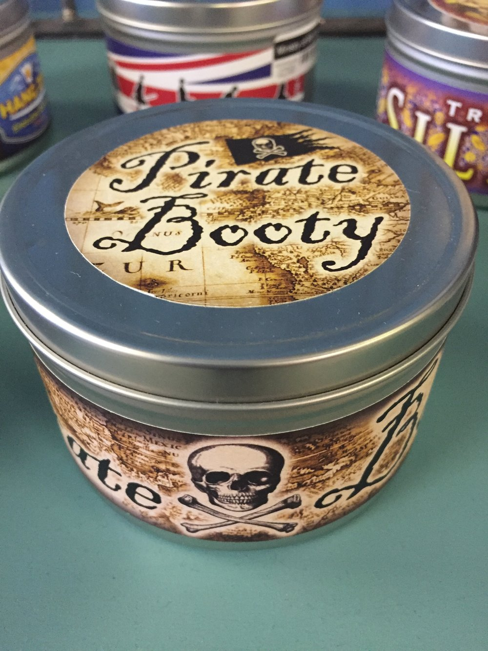 Pirate Booty Candle