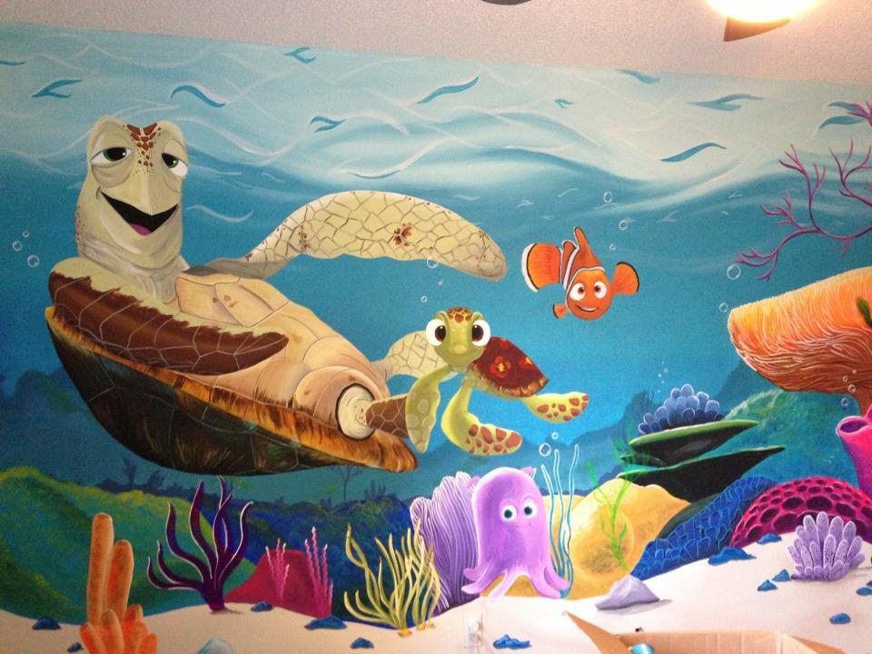 Finding Nemo Mural 2