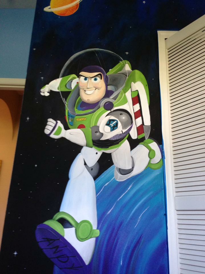 Toy Story Mural 2