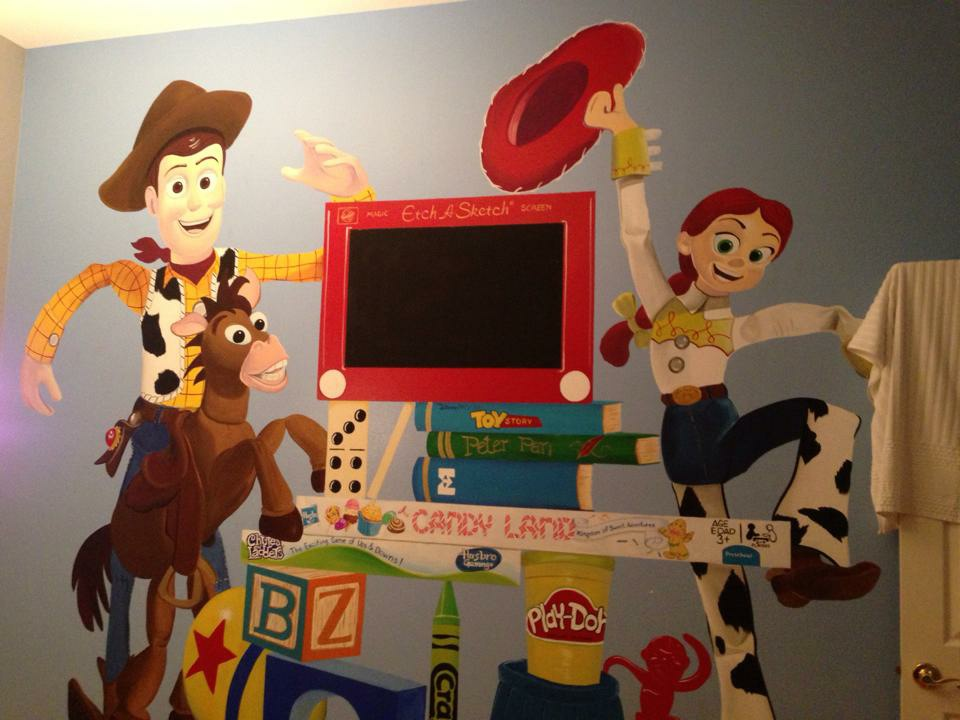 Toy Story Mural 3