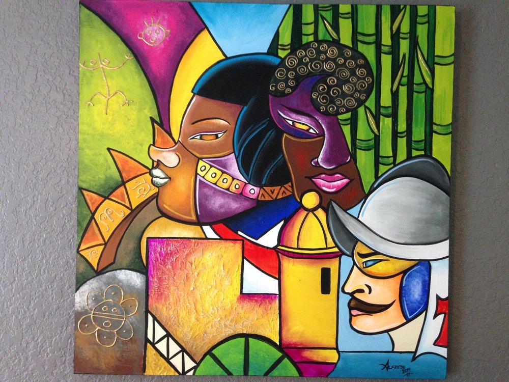 An original piece by Alfredo Majuri Vargas.