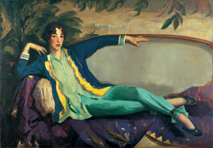 Portrait of Gertrude Vanderbilt Whitney by Robert Henri (1916)