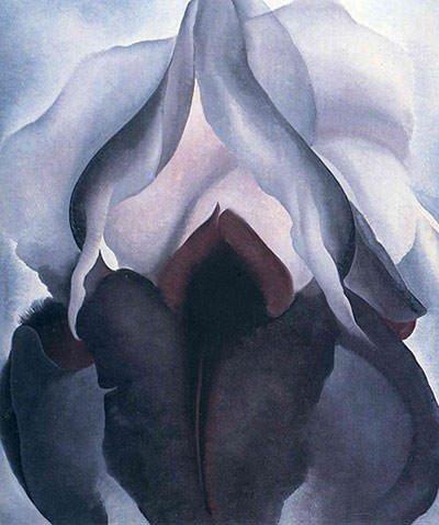 'Black Iris' by Georgia O'Keeffe (1926)