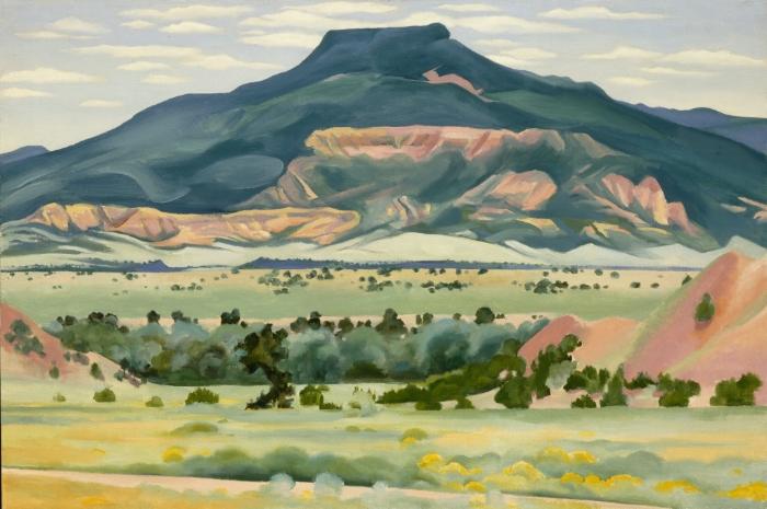 'My Front Yard, Summer' by Georgia O'Keeffe (1941)