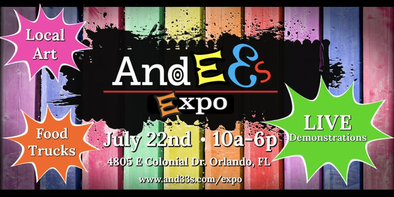 Andee's Outdoor Art Expo Banner