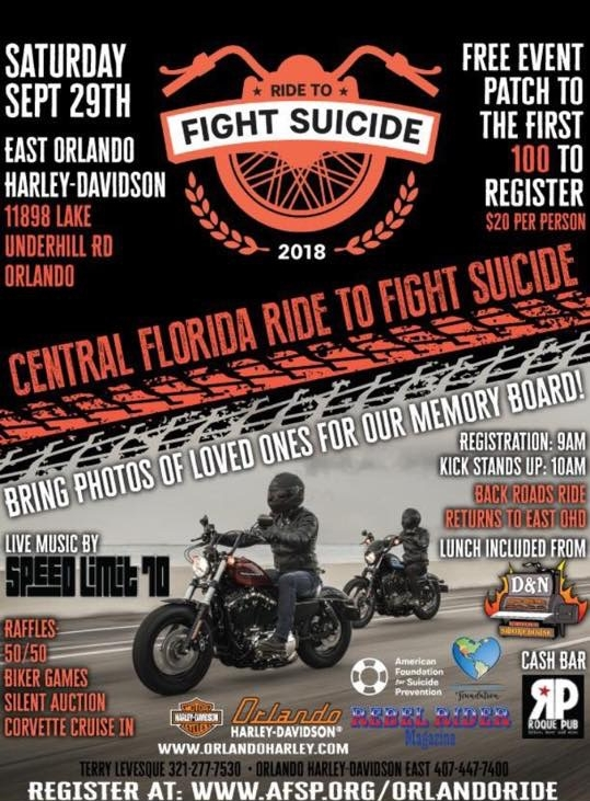 Ride to Fight Suicide
