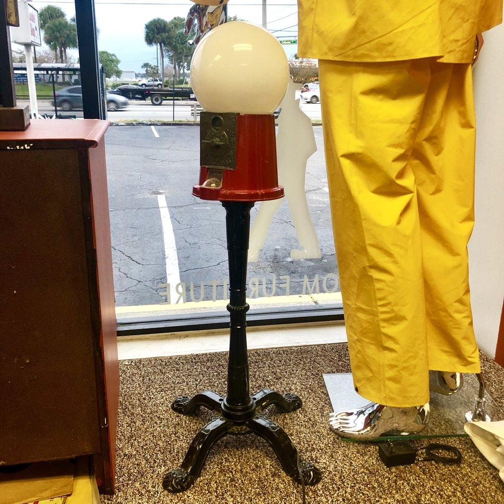 Custom Gumball Machine Lamp
