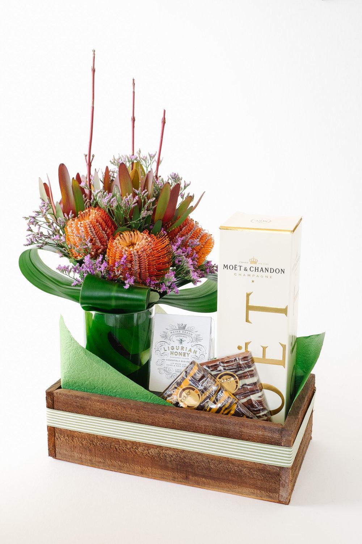 Gift box - flowers