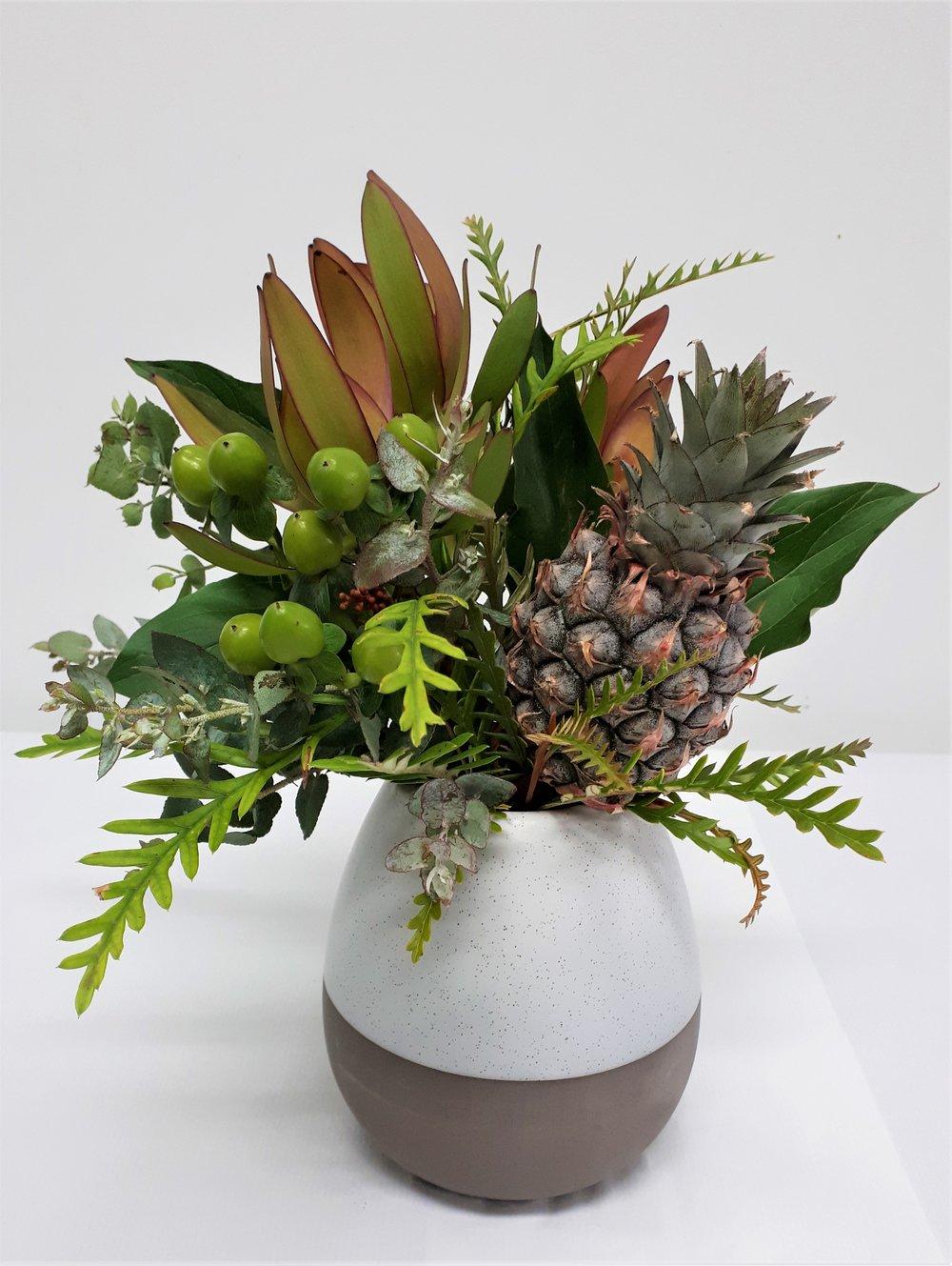 Vase Organic Bubble w flowers.jpg