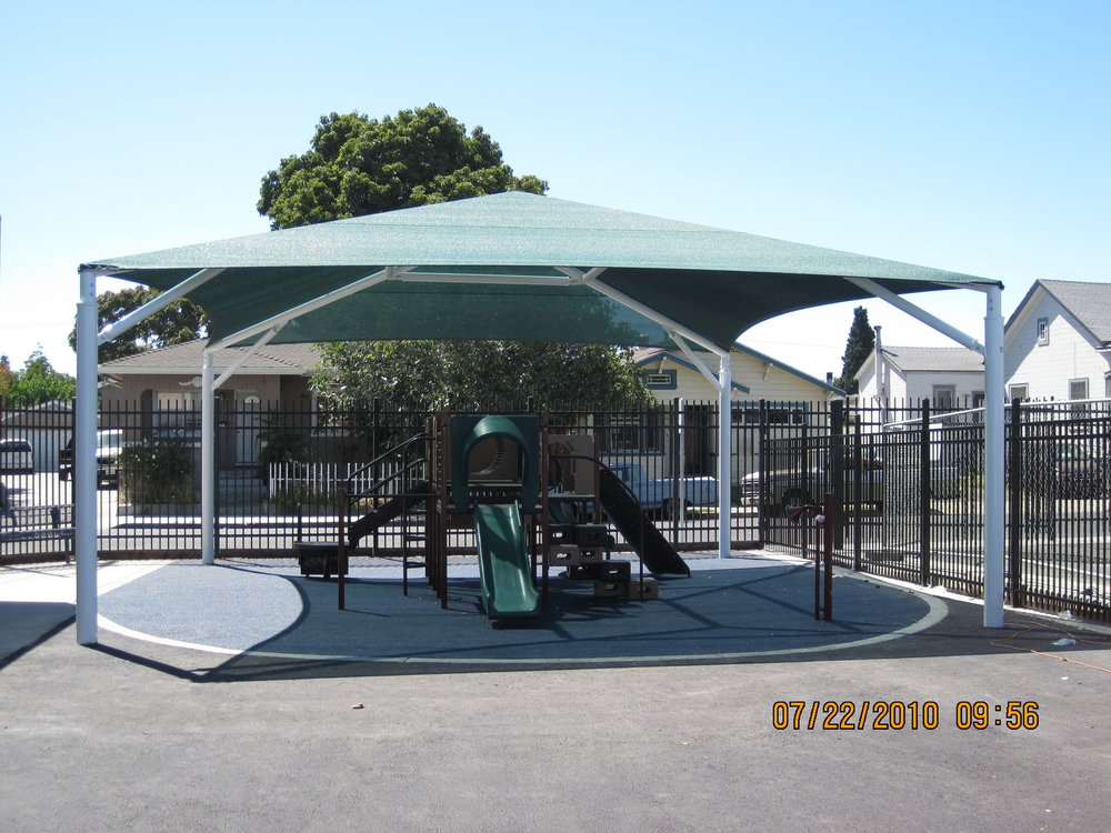 Example shade structure