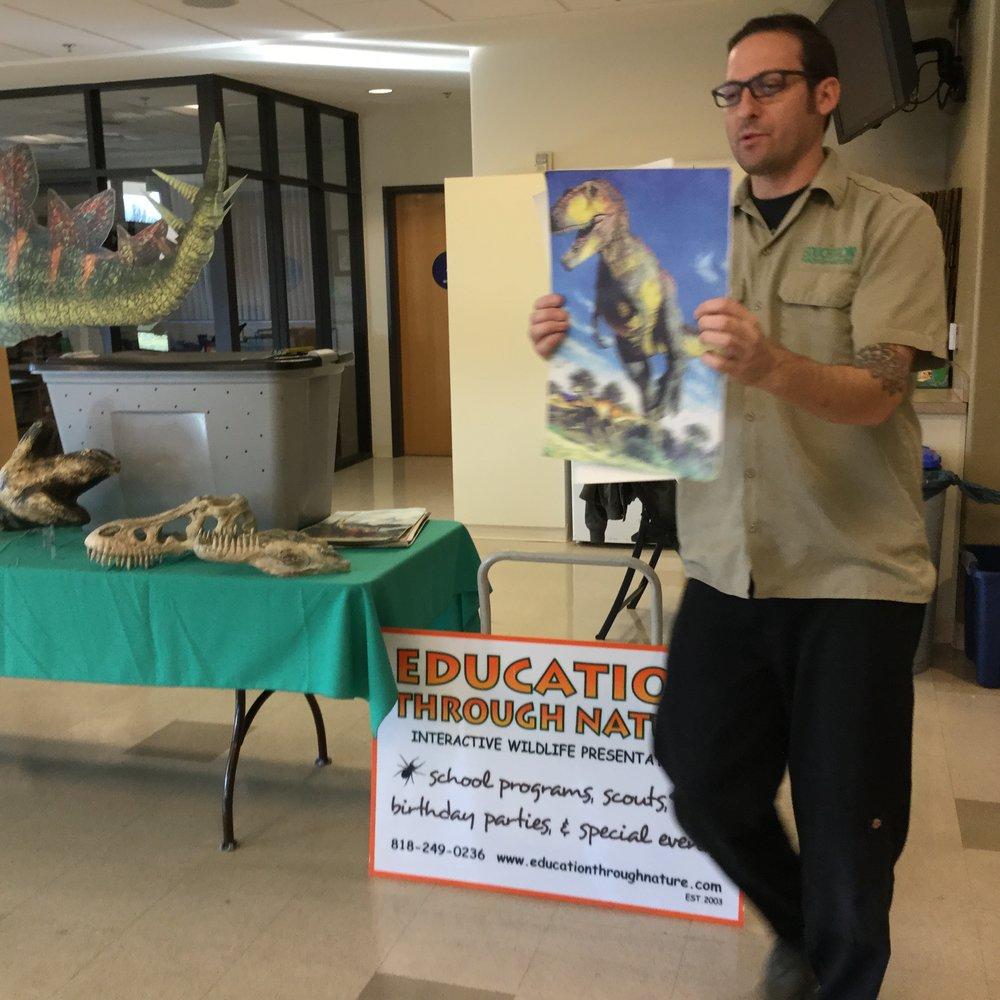 Education Through Nature presentation