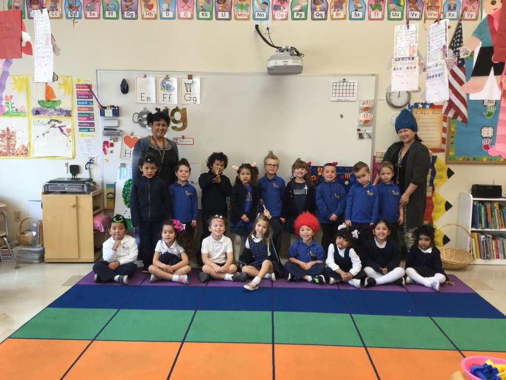 We ended our short week with crazy hair day.  The children had a great week! It was a short week full of lessons, presentations,and exploring!