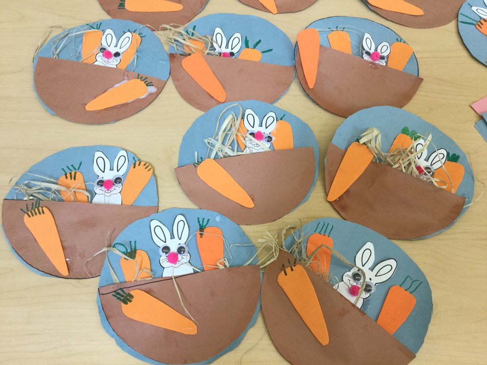 Easter Bunny Art Project