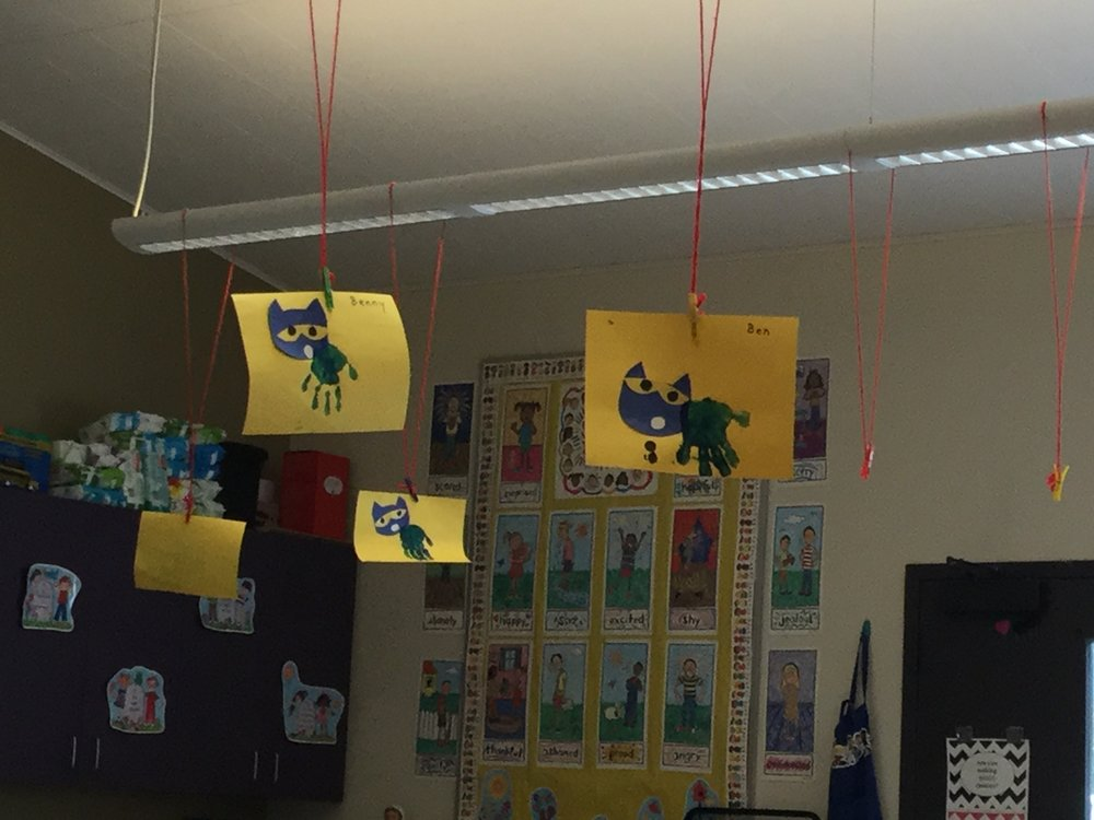 Pete the Cat Art Project