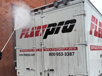 Fleet washing Baltimore