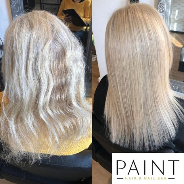 Ready to have a #hair #transformation ? KFusion #Keratin treatment is the answer to smooth, silky and #FrizzFree hair for up to 6 months. #NoFormaldehyde even when heated. And from only £75 until the end of February at PAINT http://ow.ly/o2yz50lGh1k