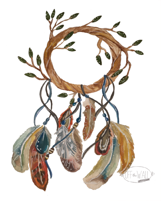 Autumn Dreamcatcher by Off The Wall Home at www.offthewallhome.com