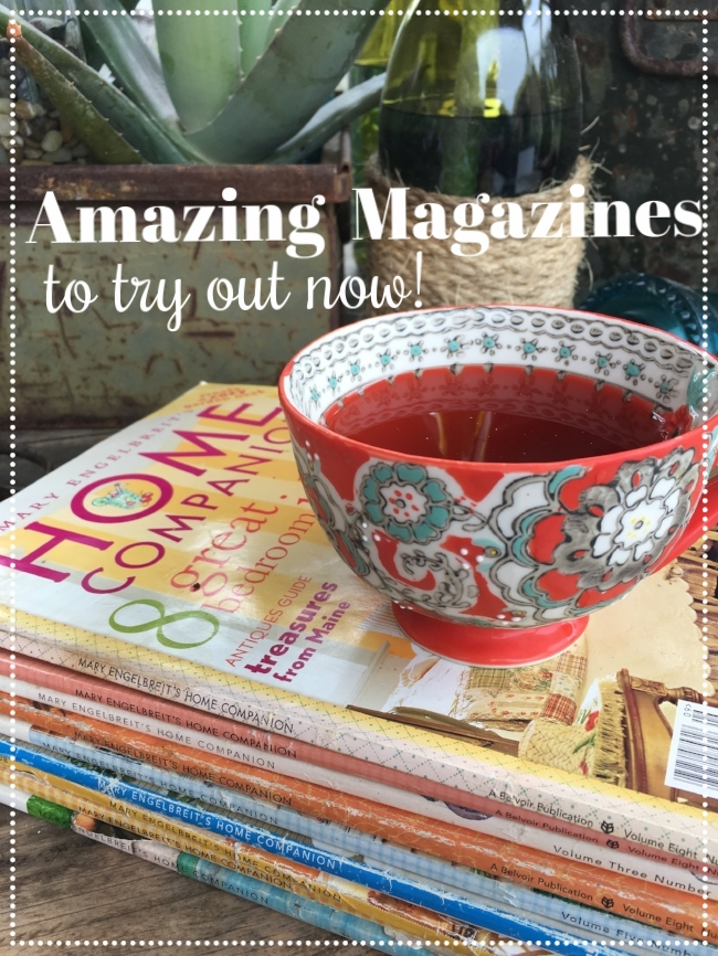 Amazing Magazines To Try Right Now by Off The Wall Home, keep your creative mojo going and be inspired with this lovely resources on the blog.