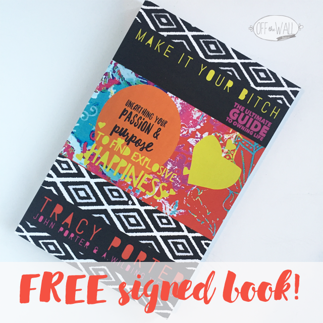 Off The Wall Home Girl Boss Tracy Porter Signed Book Giveaway