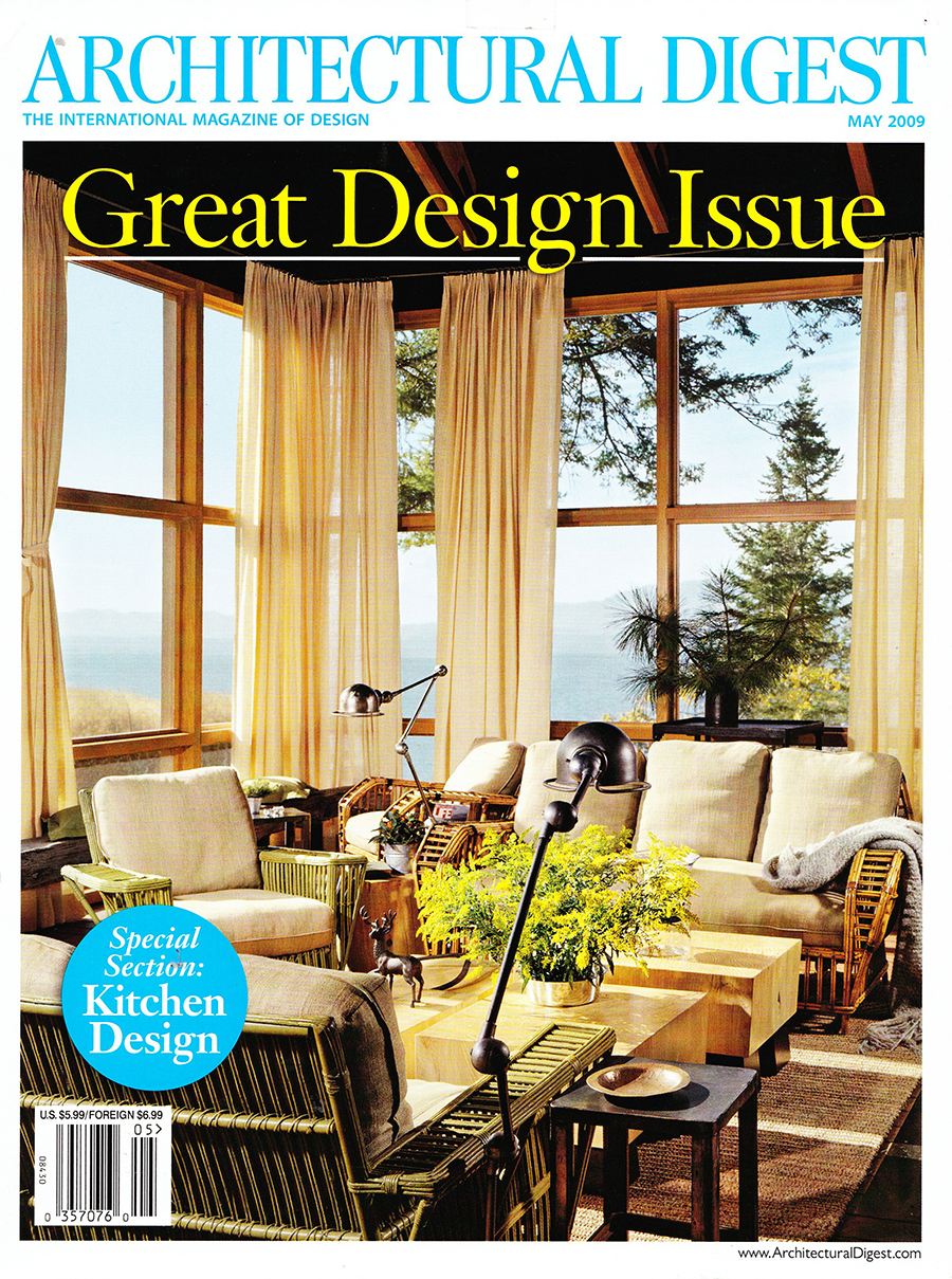 Architectural Digest  The Woodworker's Art