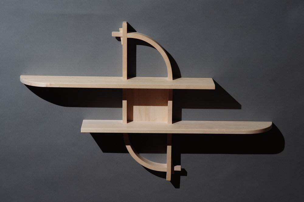 Wall-hung  shelf, sycamore, 2014.jpg